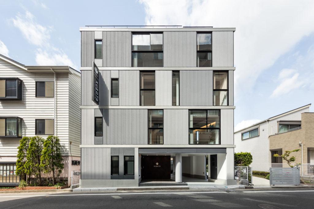 久保田建設本社ビルの外観写真