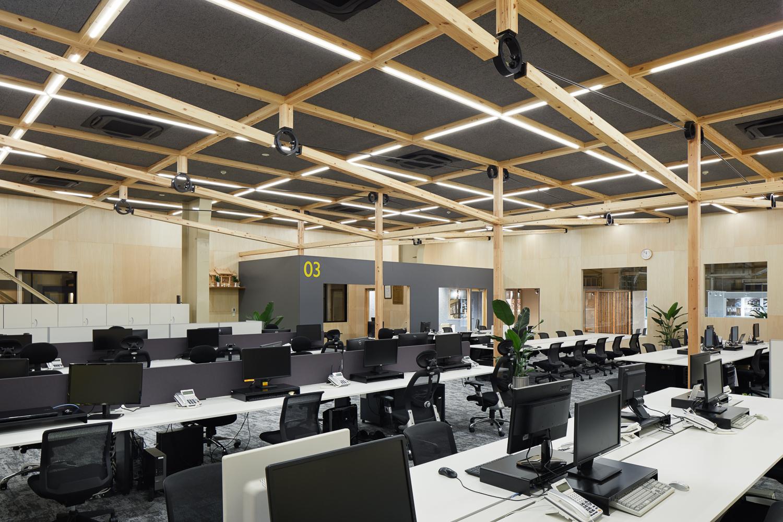 ウッディパーツオフィスの内観写真・事例