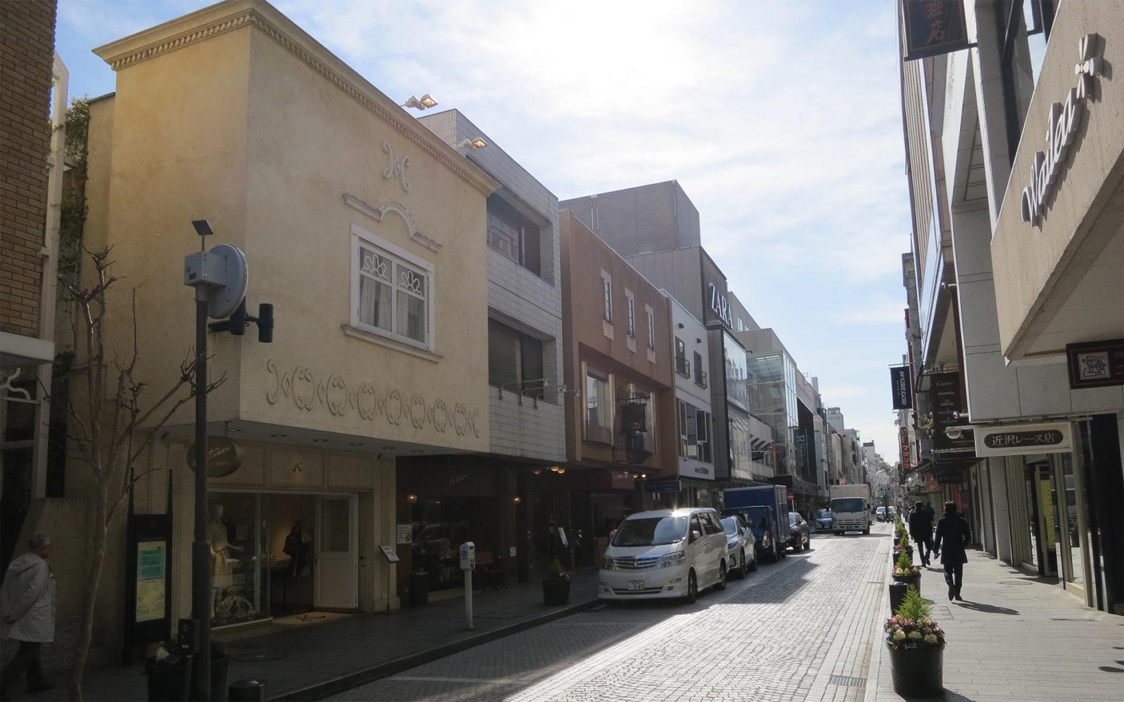 横浜元町商店街(横浜元町ショッピングストリート)の写真